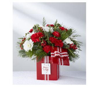 Jesus is the Gift Bouquet in Fond Du Lac WI, Haentze Floral Co