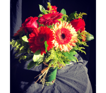 Autumn Gerberas in Needham MA, Needham Florist