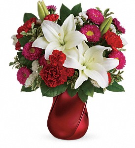 Teleflora's Always There Bouquet in Menomonee Falls WI, Bank of Flowers