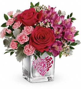 Teleflora's Young At Heart Bouquet in Boerne TX, An Empty Vase