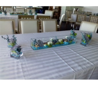 Aquarium Tablescape in Freehold NJ, Especially For You Florist & Gift Shop