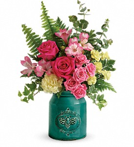 Teleflora's Country Beauty Bouquet in Rochester NY, Red Rose Florist & Gift Shop