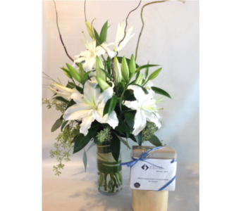 White Wedding  in Guilford CT, Guilford White House Florist