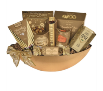 Golden Palace Gourmet Basket in Guelph ON, Patti's Flower Boutique