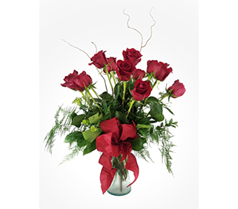Dozen Red Roses in Bend OR, Donner Flower Shop