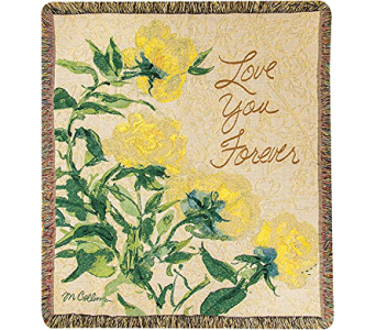 Love You Forever Throw in Bonita Springs FL, Heaven Scent Flowers Inc.