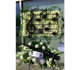 Musical Staff in Jersey City NJ, Entenmann's Florist