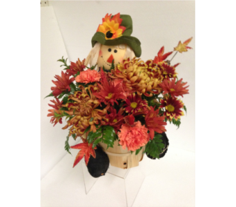 Scarecrow Bouquet in Chicago IL, The Flower Cottage