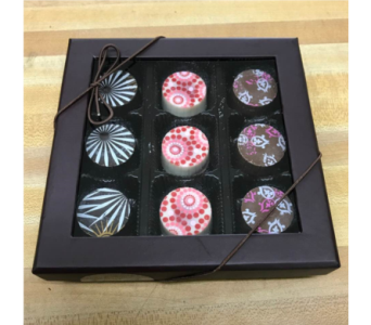 16 pc Artisan Chocolate Truffle in Palm Desert CA, Milan's Flowers & Gifts