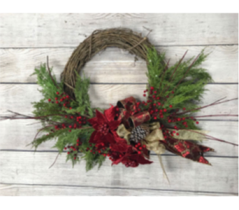 Graceful Celebration Wreath in Virginia Beach VA, Fairfield Flowers