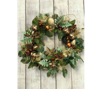 Williamsburg Treasures Wreath in Virginia Beach VA, Fairfield Flowers
