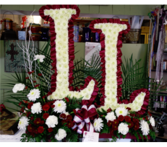 Initials in Freehold NJ, Especially For You Florist & Gift Shop