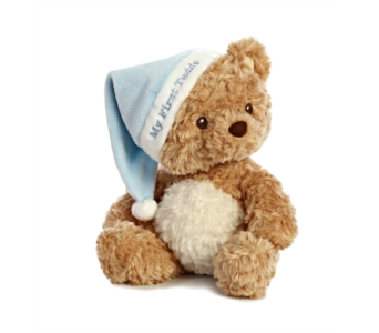 My First Teddy, Blue in Alliston, New Tecumseth ON, Bern's Flowers & Gifts