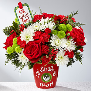 FTD I'll Jingle to That Bouquet 2017 in Corunna ON, LaPier's Flowers