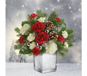 Woodland Winter Bouquet in Indianapolis IN, George Thomas Florist