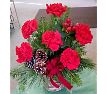 Rustic Carnations in Skowhegan ME, Boynton's Greenhouses, Inc.