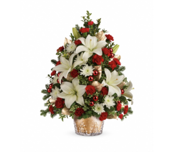 Teleflora's Golden Pines Tree  in Detroit and St. Clair Shores MI, Conner Park Florist