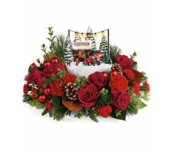 Thomas Kinkade's Festive Moments Bouquet  in Detroit and St. Clair Shores MI, Conner Park Florist