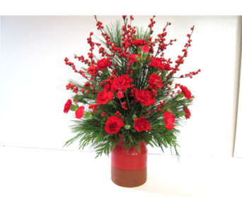 Pine Forest Crock in Worcester MA, Holmes Shusas Florists, Inc
