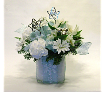 Winter in Blue in Herndon VA, Herndon Florist, Inc
