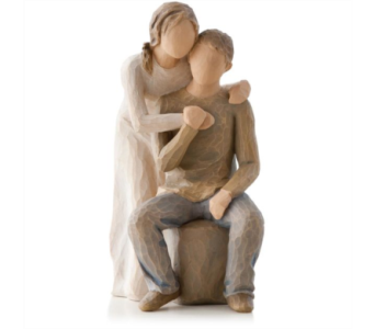 Willow Tree Figurine - You & Me in Timmins ON, Timmins Flower Shop Inc.