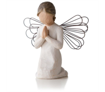 Willow Tree Figurine - Angel of Prayer in Timmins ON, Timmins Flower Shop Inc.