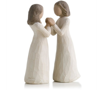 Willow Tree Figurine - Sisters by Heart in Timmins ON, Timmins Flower Shop Inc.