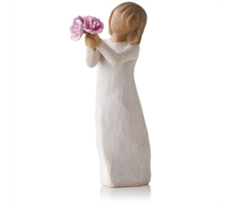 Willow Tree Figurine -Thank you in Timmins ON, Timmins Flower Shop Inc.