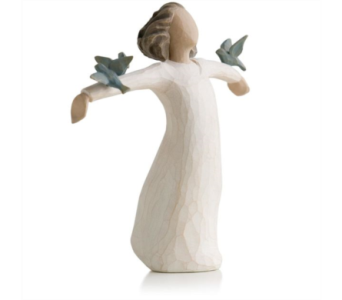 Willow Tree Figurine -Happiness in Timmins ON, Timmins Flower Shop Inc.
