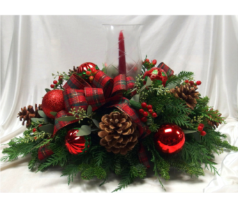 Holiday Wishes Centerpiece in Hollidaysburg PA, Warner's Florist Gifts & Greenhouse