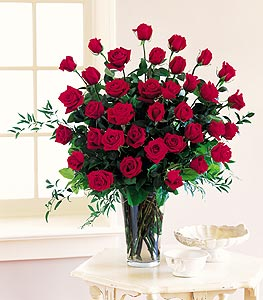 Stein Three Dozen Red Roses in Burlington NJ, Stein Your Florist