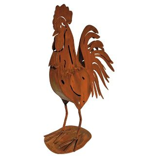 Tin Rooster in Copper Tone in Nashville TN, Emma's Flowers & Gifts, Inc.