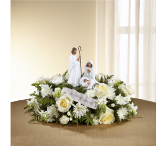 DaySpring� God's Gift of Love� Centerpiece in Chicago IL, Wall's Flower Shop, Inc.
