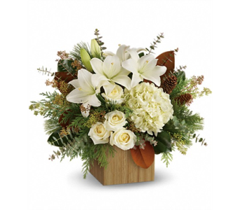 Snowy Woods Bouquet in Smyrna GA, Floral Creations Florist