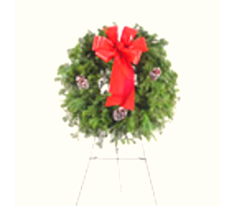 Cemetery Wreath in Big Rapids MI, Patterson's Flowers, Inc.