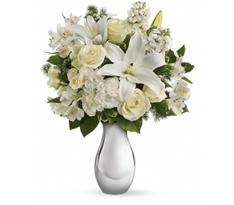 Shimmering White Bouquet in Smyrna GA, Floral Creations Florist