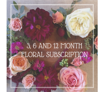 Year of Flowers Monthly Subscription in Charleston SC, Tiger Lily Florist Inc.