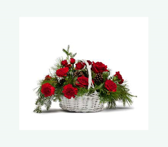 December's Classic Holiday Basket  in Casper WY, Keefe's Flowers