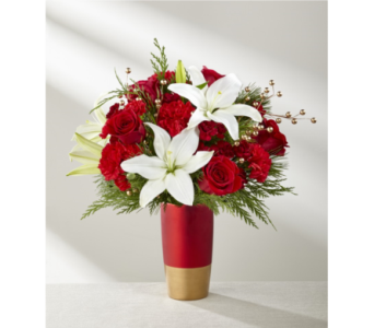 The FTD� Holiday Celebrations� Bouquet in Chapel Hill NC, Floral Expressions and Gifts