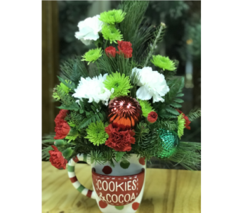 North Pole Party Mug  in Batavia IL, Batavia Floral in Bloom, Inc