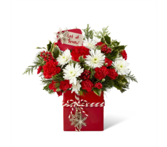 FTD Holiday Cheer Bouquet in Noblesville IN, Adrienes Flowers & Gifts