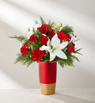 Holiday Celebrations Bouquet in Camp Hill and Harrisburg PA, Pealers Flowers