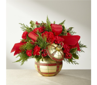 FTD Holiday Delights Bouquet in Noblesville IN, Adrienes Flowers & Gifts