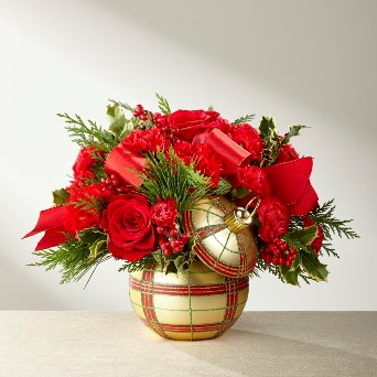 Holiday Delights Bouquet in Camp Hill and Harrisburg PA, Pealers Flowers