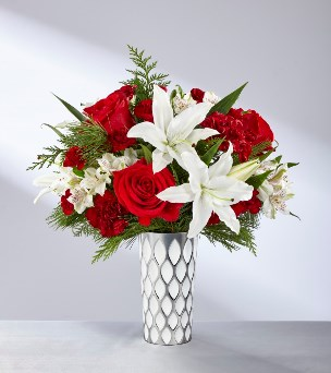 Holiday Elegance Bouquet in Camp Hill and Harrisburg PA, Pealers Flowers