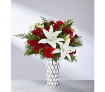 FTD Holiday Elegance Bouquet in Noblesville IN, Adrienes Flowers & Gifts