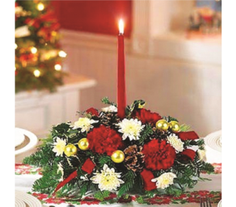 Make Merry Centerpiece in Indianapolis IN, George Thomas Florist