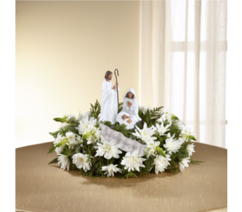 FTD God's Gift of Love Centerpiece in Noblesville IN, Adrienes Flowers & Gifts
