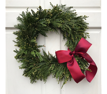 Holiday Wreath 1 in Sacramento CA, G. Rossi & Co.