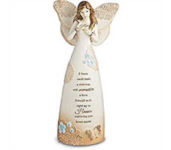 Light Your Way Sympathy Angel in Timmins ON, Timmins Flower Shop Inc.
